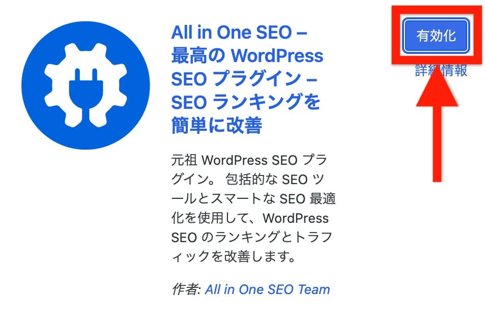All in One SEO 設定